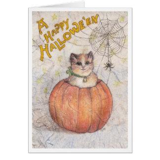 A Happy Hallowe'en Card