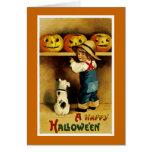 A Happy Halloween Greeting Card