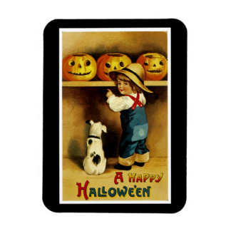 A Happy Halloween Magnet