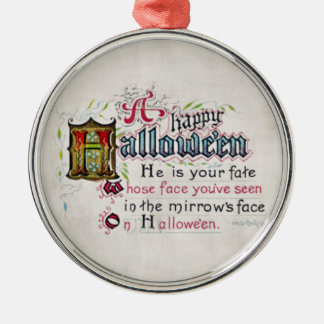 A Happy Hallowe'en Ornament