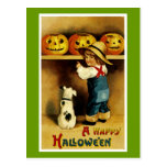 A Happy Halloween Post Cards