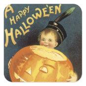 A Happy Halloween sticker