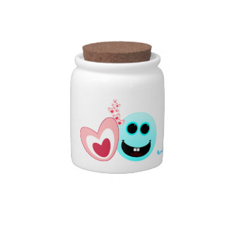 A Happy Heart - Proverbs 15:13 Candy Dish