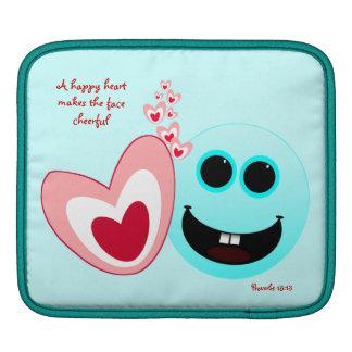 A Happy Heart - Proverbs 15:13 iPad Sleeve
