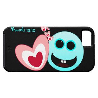 A Happy Heart - Proverbs 15:13 NIV iPhone SE/5/5s Case