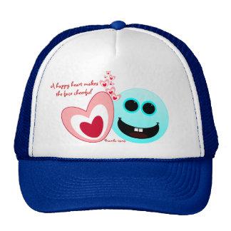 A Happy Heart - Proverbs 15:13 NIV Trucker Hat