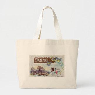 A Happy New Year Jumbo Tote Bag