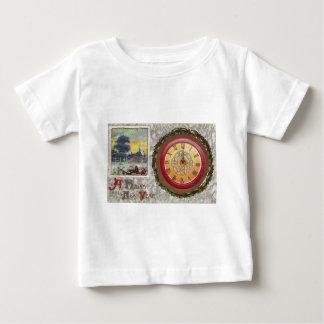 A Happy New Year Clock Baby T-Shirt