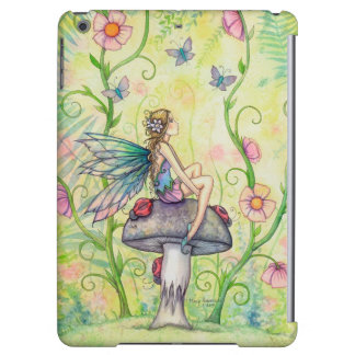 A Happy Place Flower Fairy Fantasy Art Case For iPad Air