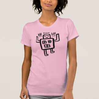 A Happy Robot Being Happy T-Shirt