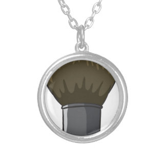 A hard cleaning brush custom necklace
