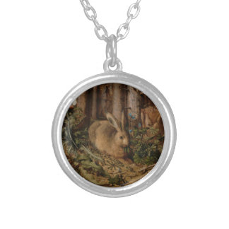 A Hare in the Forest Custom Necklace