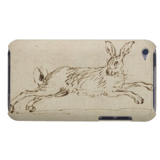 A Hare Running, With Ears Pricked (pen & ink on pa Case-Mate iPod Touch Case