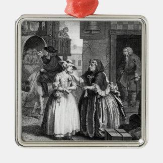 A Harlot's Progress Christmas Ornaments