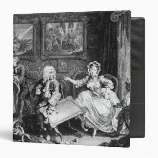 A Harlot's Progress, plate II, Quarrels Binder