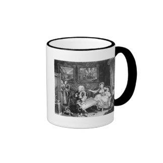A Harlot's Progress, plate II, Quarrels Coffee Mug