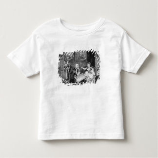 A Harlot's Progress, plate II, Quarrels Toddler T-shirt