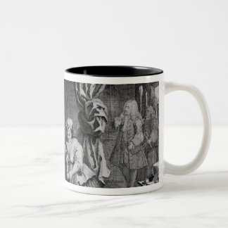 A Harlot's Progress Two-Tone Coffee Mug