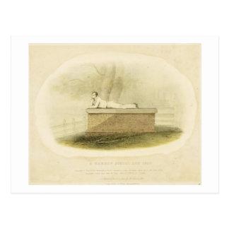 A Harrow School Boy (1805) - Lord Byron (1788-1824 Postcard