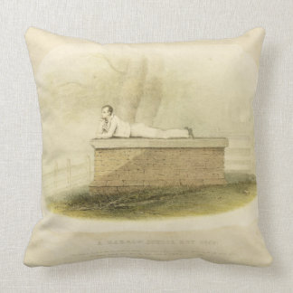 A Harrow School Boy (1805) - Lord Byron (1788-1824 Throw Pillow