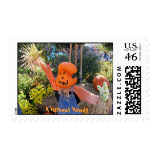 A Harvest Howdy Postage