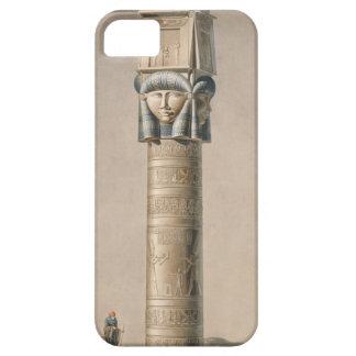 A Hathor headed pillar at Dendarah, illustration ' iPhone 5 Cases