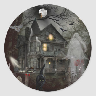 A Haunted Tale Classic Round Sticker