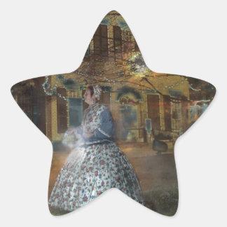 A Haunted Tale in Dahlonega Star Sticker