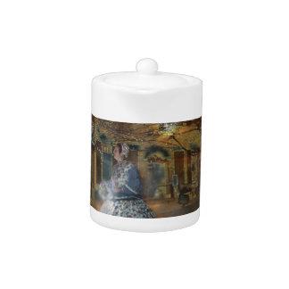 A Haunted Tale in Dahlonega Teapot