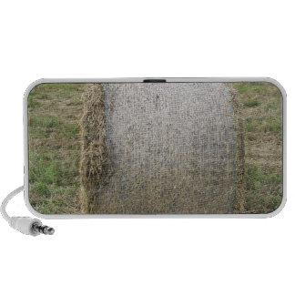 A Hay bale Portable Speaker