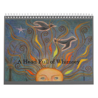 A Head Full of Whimsey Wall Calendars