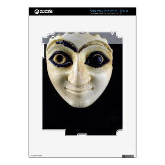 A Head of a Figure from The Temple of Nini-zaza, M iPad 3 Decals