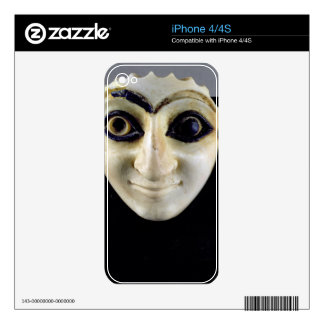 A Head of a Figure from The Temple of Nini-zaza, M Skin For The iPhone 4S