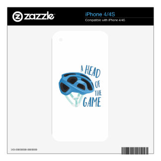 A Head Of Game Decal For iPhone 4