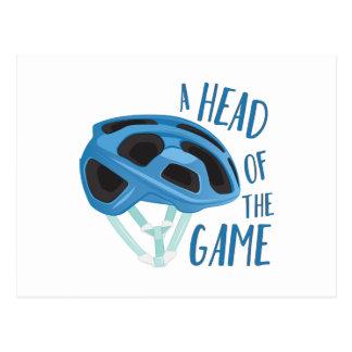A Head Of Game Postcard