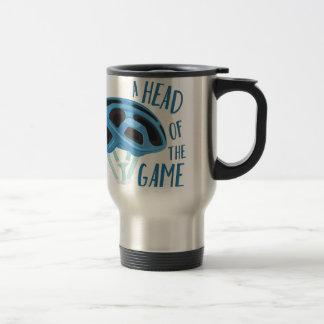 A Head Of Game Travel Mug