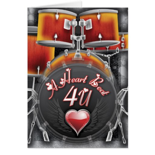 A Heart Beat 4 U Card