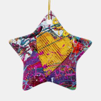 A heart for art christmas tree ornament