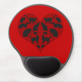 A Heart For Cats Gel Mouse Pad