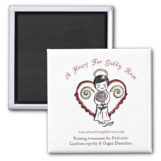 A Heart for Gabby Rose Magnet