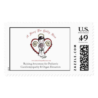 A Heart For Gabby Rose Postage