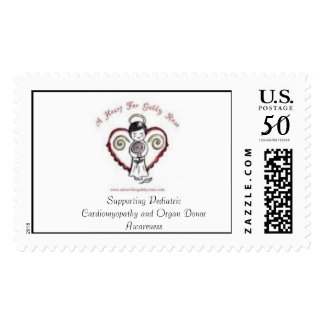 A Heart For Gabby Rose Postage Stamp