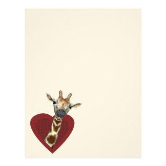 A Heart For Giraffes Letterhead