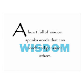 A Heart Full Of Wisdom Postcard