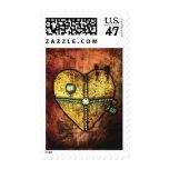 A Heart Less Broken Gothic Art Custom Postage