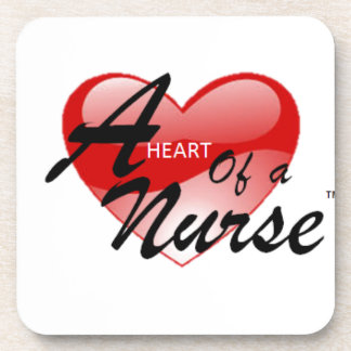 A Heart of a Nurse Coaster