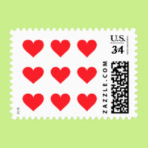 A Heart of Love and Affection Postage