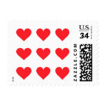 A Heart of Love and Affection Postage Stamps