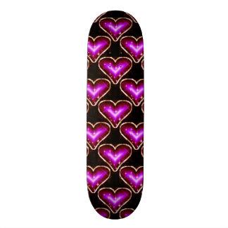 A Heart Pattern 2 Skateboard