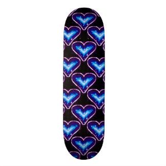 A Heart Pattern 3 Skateboard